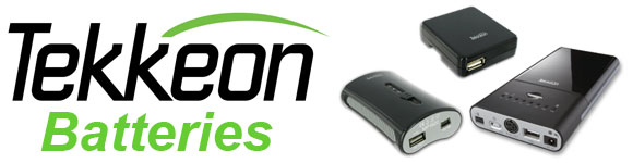 Tekkeon - Portable Rechargeable Lithium Ion Batteries