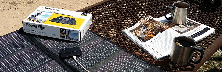 PowerFilm Portable Solar